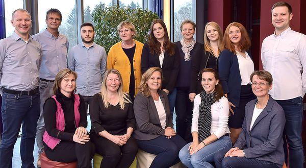 Das Team der wohndienstjena GmbH
